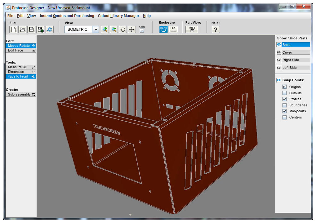 Protocase Designer | The fastest and easiest way to design