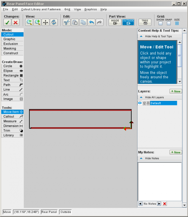 Creating an enclosure to mount a PCB - Protocase Designer Documentation